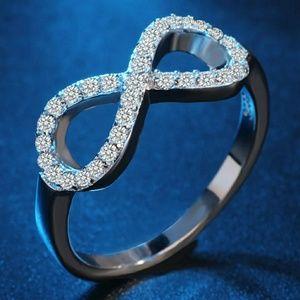 925 infinity ring